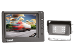 "5"" TFT-LCD with Colour Camera"