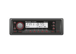 Calearo 1DIN Heavy Duty radio IP54/USB/BT/AUX
