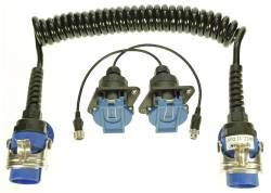 ABS EBS WCC11-WPC4 Set Krulkabel + 2 sockets incl. 15cm cable, 20