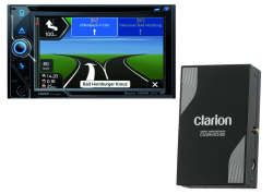 CLARION 2DIN RADIO/CD/CAMPERNAV/BT/USB/SD/DAB+