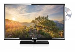 Caratec 80cm LED TV brede kijkhoek, DVB-S,