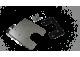 RVS Camera Verlengplaat voor Master Movano NV400