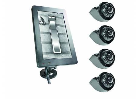 AVS System met 4 180° camera's