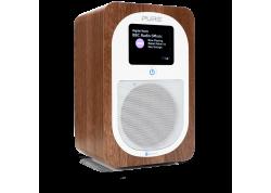 Evoke H3 walnut, draagbare DAB+/FM radio & BT Speaker