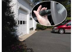 Universele geïntegreerde afstandsbediening voor elektrische garagedeur of poort