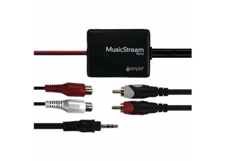 iSimple Bluetooth Music Stream interface