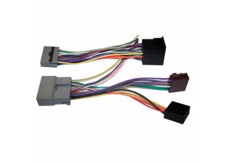 Honda Mitsubishi C-Crosser 4007 5008 ISO2CAR SOT kabel