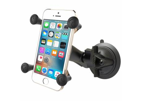 RAM X-grip phone mount met Twist-Lock suction cup