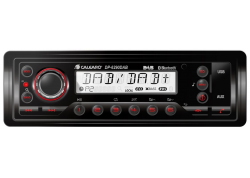 Stofdichte radio 1DIN Heavy Duty DAB radio IP54 USB/BT/AUX