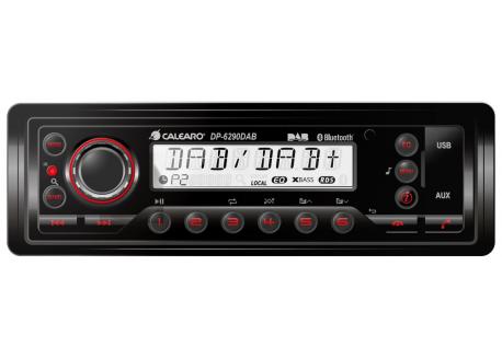 Stofdichte radio 1DIN Heavy Duty DAB radio IP54 USB/BT/AUX