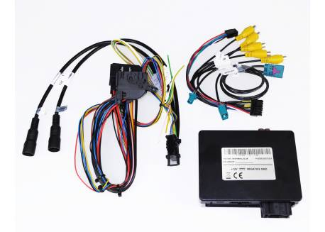 "MB Camera & video interface W907 & W910 2018- 7""/10"" MBUX Plug&Play 2 Axion camera aansluitingen"