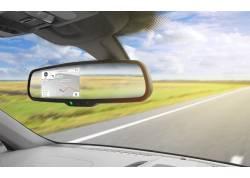 "binnenspiegel met 4,3"" Touch Navi achteruitrij Monitor OEM 12V"