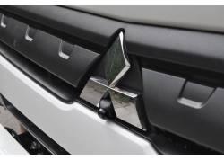 front zicht camera 200° graden in automerk logo camera voorzijde