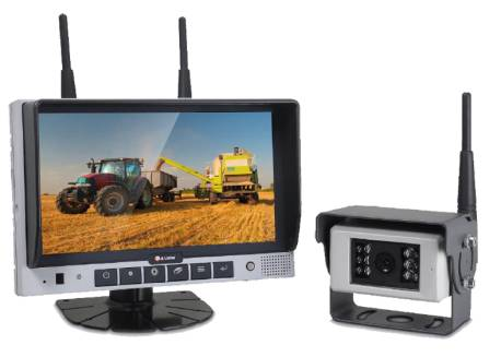 "7"" TFT-LCD Digital Wireless set with camera"