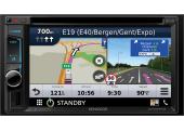 "2 DIN 6.2"" camper & truck navigatie DAB radio met Apple Carplay"