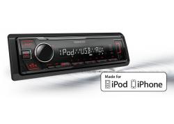 1 DIN DAB radio, Bluetooth, USB, AUX, korte inbouwdiepte