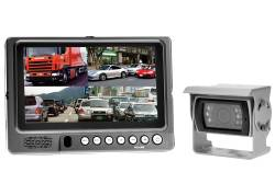 "7"" TFT-LCD with Quadbox and Camera"