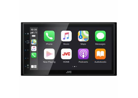 JVC 2DIN Multimedia systeem met DAB+ & Apple Carplay/Android