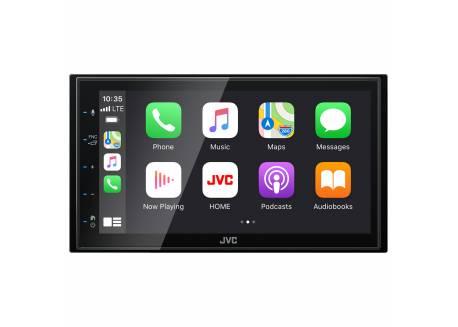 JVC 2DIN Multimedia systeem met DAB+ & Apple Carplay/Android