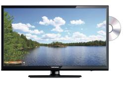 DENSON SLIM LED TV 22 inch DVB-S2, CA/CI DVD 12V/230V