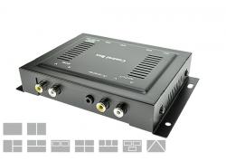 Quad Picture Controlbox+Remote (4-CAM)