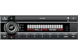Kienzle youngtimer radio 1DIN FM Bluetooth USB AUX Eprom