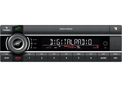 1DIN 24V Truckradio 2x USB/AUX/BT/DAB+ Kienzle