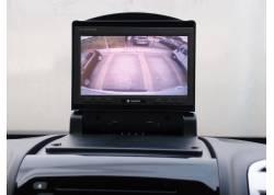 7 inch klap monitorset voor Ducato Boxer Jumper open